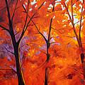 Red Blaze by Nancy Merkle