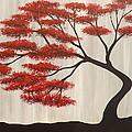 Red Bonsai by Darren Robinson