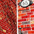Red Bricks by Valentino Visentini