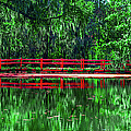 Red Bridge by Optical Playground By MP Ray