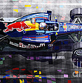 Red Bull Rb6 Vettel 2010 by Yuriy  Shevchuk