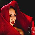 Red Burlap by Scott Sawyer
