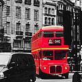 Red Bus by Cheryl Gerhard