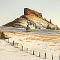 Red Butte by Anthony Wilkening