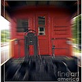 Red Caboose by Edward Fielding