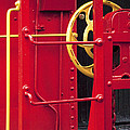 Red Caboose by Paul W Faust -  Impressions of Light