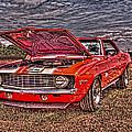Red Camaro by Jim Lepard
