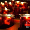 Red Candles by Traci Law