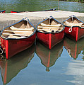 Red Canoes by Marcia Socolik