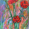 Red Carnation Melody by Kendall Kessler