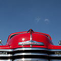Red Chevrolet 3100 1953 Pickup  by Tim Gainey