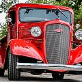 Red Chevy In Awesome by David Jeffries