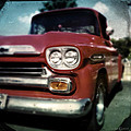 Red Chevy Pickup by Tim Nyberg