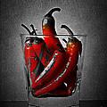 Red Chili Peppers by Binka Kirova