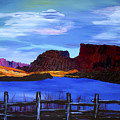 Red Cliffs On The Colorado by Bob Coyle