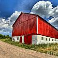 Red Country Barn by Adam Jewell