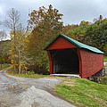Red Covered Bridge by Amy Jackson