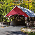 Red Covered Bridge by Pierre Leclerc Photography