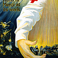 Red Cross Poster, 1918 by Granger