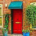 Red Door 2 by Baywest Imaging