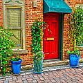 Red Door 5 by Baywest Imaging