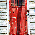 Red Door By Diana Sainz by Diana Sainz