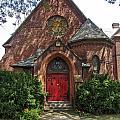 Red Door Church by Eric Swan