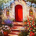 Red Door by Gail Salitui