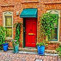 Red Door by Baywest Imaging