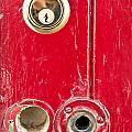 Red Door Lock by Tom Gowanlock