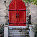 Red Door by Phyllis Taylor