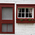 Red Door Red Window by Barbara McMahon