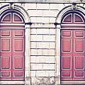Red Doors by Tom Gowanlock