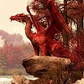 Red Dragon In Autumn by Daniel Eskridge