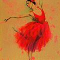 Red Dress by Elena Zolevskaya