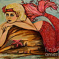Red Dust Mermaid by Valarie Pacheco