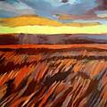 Red Field by Helena Wierzbicki