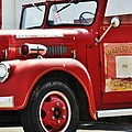 Red Fire Truck by Image Takers Photography LLC - Carol Haddon