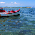 Red Fishing Boat by Grigorios Moraitis