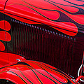 Red Flames Hot Rod by Garry Gay