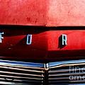 Red Ford 1 by Kathlene Pizzoferrato