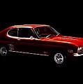 Red Ford Capri by Steve K