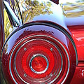 Red Ford Tailight by Dean Ferreira