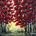 Red Forest by Suzanne Theis