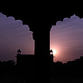 Red Fort Arches - New Delhi - India by Aidan Moran