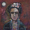 Red Frida 2013 by Laurie Maves ART