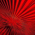 Red Glass Abstract 6 by John Brueske