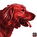 Red Golden Retriever - 4047 Fs by James Ahn