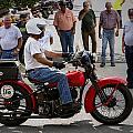 Red Harley 95 by Jeff Kurtz