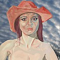 Red Hat Girl  by Roger Medcalf